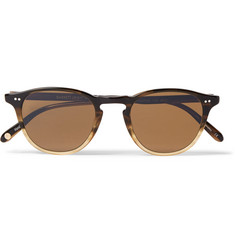 Garrett Leight California Optical Hampton 46 Round-Frame Acetate Sunglasses
