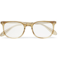 Garrett Leight California Optical Bentley 51 Square-Frame Acetate Optical Glasses