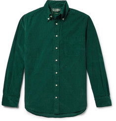 Gitman Vintage Slim-Fit Button-Down Collar Cotton-Corduroy Shirt