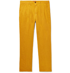 Barena Pleated Linen Trousers