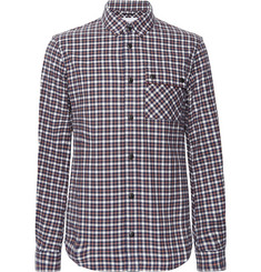 Aztech Mountain - Lodge Peak Checked Cotton-Flannel Shirt
