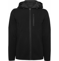 Aztech Mountain Matterhorn Shell-Trimmed Wool Zip-Up Hoodie