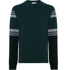 Aztech Mountain - Matterhorn Ski Club Striped Wool Sweater