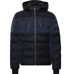 Aztech Mountain Nuke Waterproof Wool-Blend and Shell Down Ski Jacket