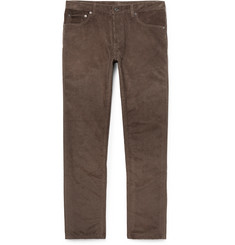 Berluti - Cotton and Cashmere-Blend Corduroy Trousers