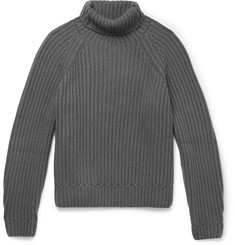 Berluti - Ribbed Cashmere Rollneck Sweater