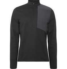 Lululemon Division Stretch-Piqué Half-Zip Top