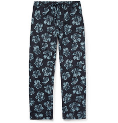 Desmond & Dempsey Victor Printed Cotton Pyjama Trousers