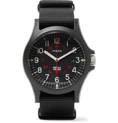 Timex - Acadia Resin and Grosgrain Watch
