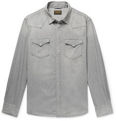 Jean Shop Cotton-Chambray Western Shirt