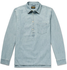 Jean Shop Ethan Cotton-Chambray Half-Placket Shirt