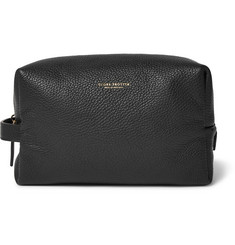 Globe-Trotter Propellor Pebble-Grain Leather Wash Bag