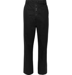 Moncler Genius 5 Moncler Craig Green Webbing and Nylon-Trimmed Cotton-Canvas Trousers
