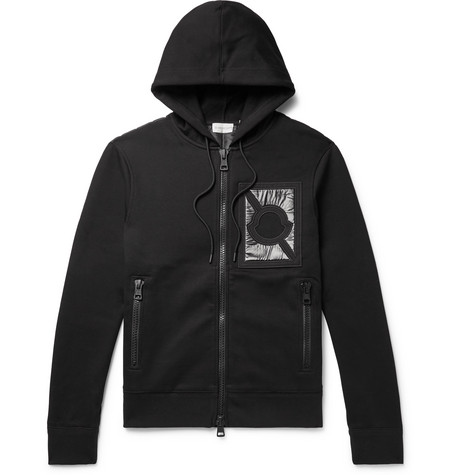 Moncler Genius – 5 Moncler Craig Green Nylon-panelled Cotton-blend Jersey Zip-up Hoodie – Black