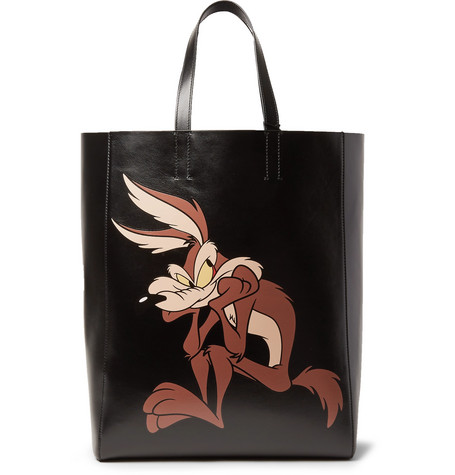 Printed Leather Tote Bag by Calvin Klein 205 W39 Nyc