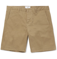 AMI - Stretch-Cotton Twill Chino Shorts