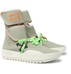 Off-White - Moto Wrap Mesh High-Top Sneakers