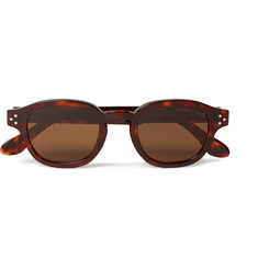 Cutler and Gross - Round-Frame Tortoiseshell Acetate Sunglasses