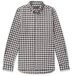 Beams Plus Gingham Cotton-Flannel Shirt