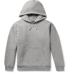 Beams Plus Double-Faced Mélange Cotton-Blend Jersey Hoodie