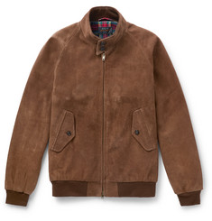 Beams Plus Suede Blouson Jacket