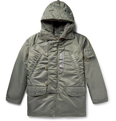 Beams Plus N-3B Shell Hooded Down Coat