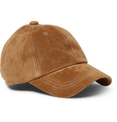Beams Plus Water-Repellent Suede Baseball Cap