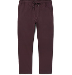 Mr P. - Slim-Fit Stretch-Virgin Wool Drawstring Trousers