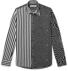 Givenchy Printed Matte-Satin Shirt