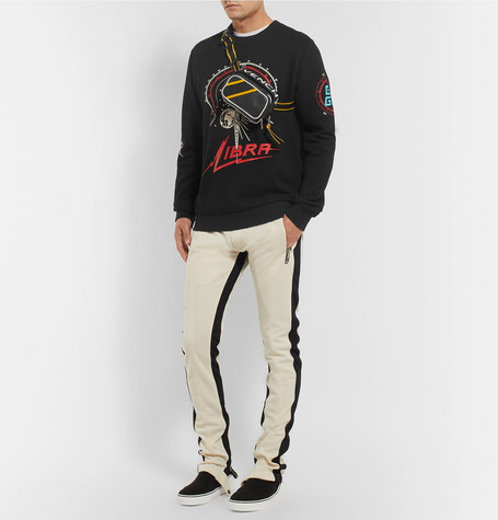 Printed Loopback Cotton Jersey Sweatshirt by Givenchy