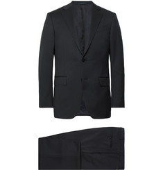 Ermenegildo Zegna Midnight-Blue Slim-Fit Wool-Twill Suit