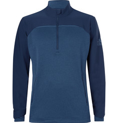 Adidas Golf Go-To Adapt Shell and Jersey Half-Zip Sweatshirt