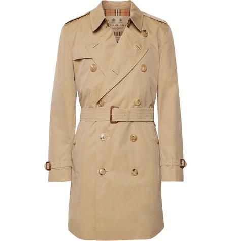 ee0cb0e8d Burberry - Kensington Cotton-Gabardine Trench Coat
