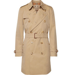 Burberry - Kensington Cotton-Gabardine Trench Coat