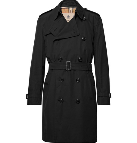 Kensington Cotton Gabardine Trench Coat by Burberry