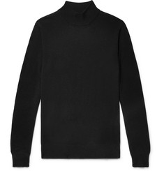 Bottega Veneta Slim-Fit Cashmere Mock-Neck Sweater