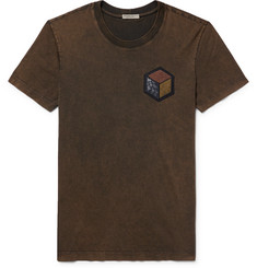 Bottega Veneta - Appliquéd Cotton-Jersey T-shirt
