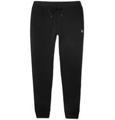 폴로 랄프로렌 Polo Ralph Lauren Slim-Fit Tapered Jersey Sweatpants,Black