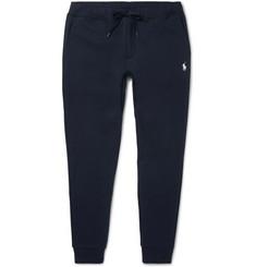 폴로 랄프로렌 Polo Ralph Lauren Slim-Fit Tapered Jersey Sweatpants,Navy