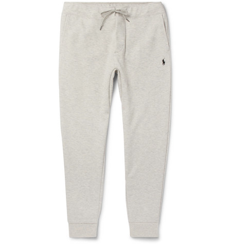 Slim Fit Mélange Tapered Jersey Sweatpants by Polo Ralph Lauren