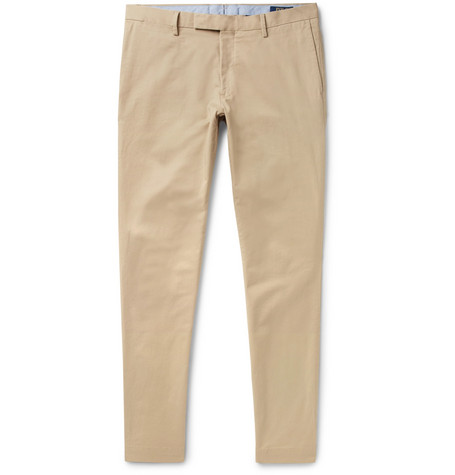 40e1b72e6536 Polo Ralph Lauren - Slim-Fit Stretch-Cotton Twill Chinos
