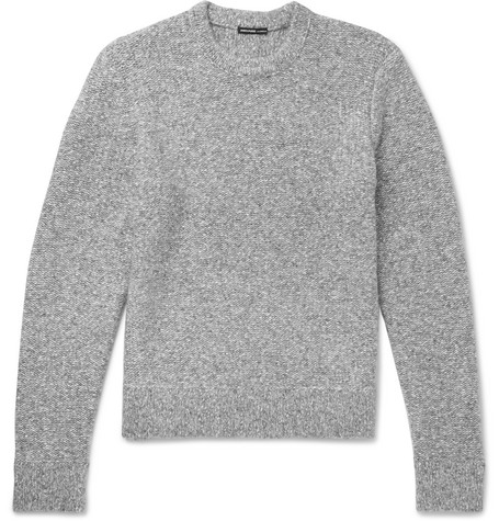 Mélange Cotton Blend Sweater by James Perse