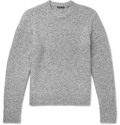 James Perse Mélange Cotton-Blend Sweater