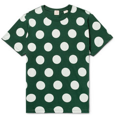 Levi's Vintage Clothing Polka-Dot Cotton-Jersey T-Shirt