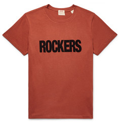 Levi's Vintage Clothing Flocked Cotton-Jersey T-Shirt