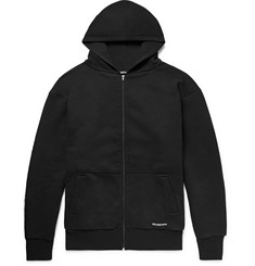 Balenciaga Oversized Loopback Cotton-Jersey Zip-Up Hoodie