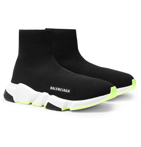 On Balenciaga Slip Sneakers Sock Knit Speed Stretch SGMUpqzV