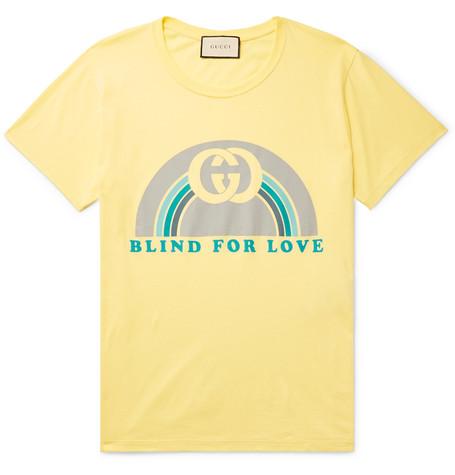 905971c1 Gucci - Printed Cotton-Jersey T-shirt