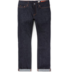 Jean Shop Bowie Slim-Fit Raw Selvedge Denim Jeans