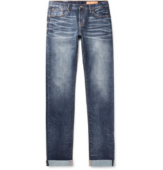 Jean Shop Mick Slim-Fit Selvedge Stretch-Denim Jeans